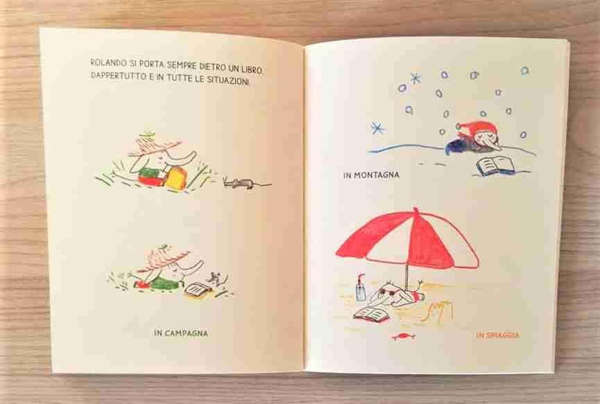 ROLANDO LELEFANTE illustrazioni