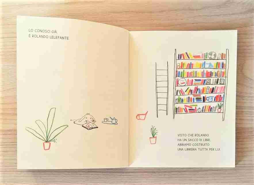 ROLANDO LELEFANTE libreria
