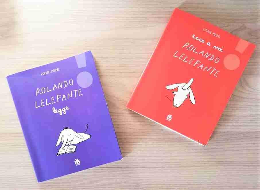 ROLANDO LELEFANTE di Louise Mézel, SINNOS EDITRICE