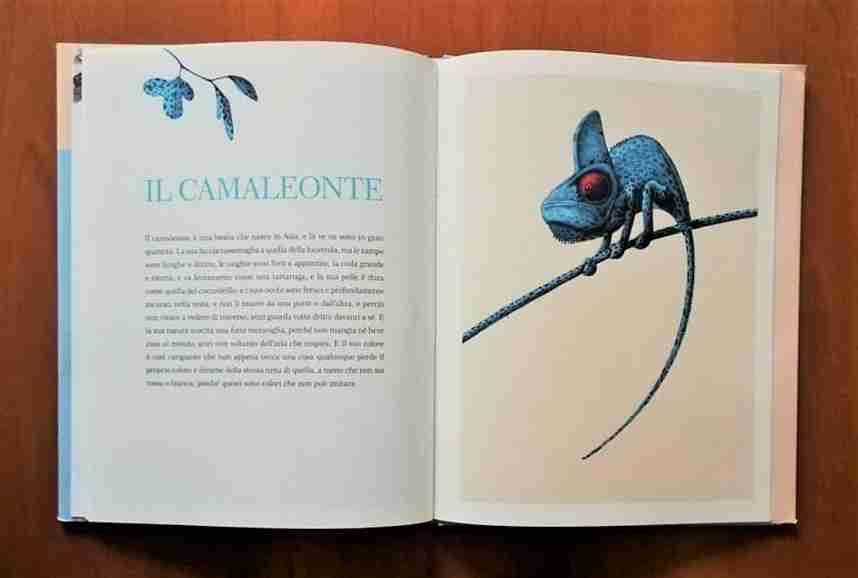 TRESOR Un bestiario medievale camaleonte