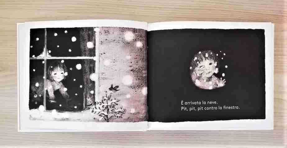 la prima neve illustrazioni