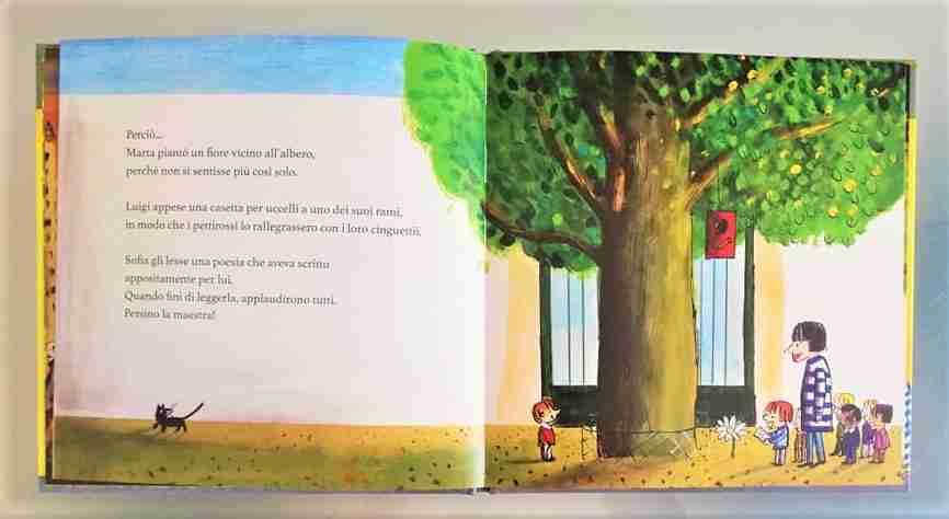 l'albero della scuola disegni