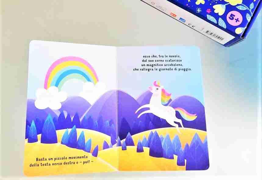 unicorno 3D libricino