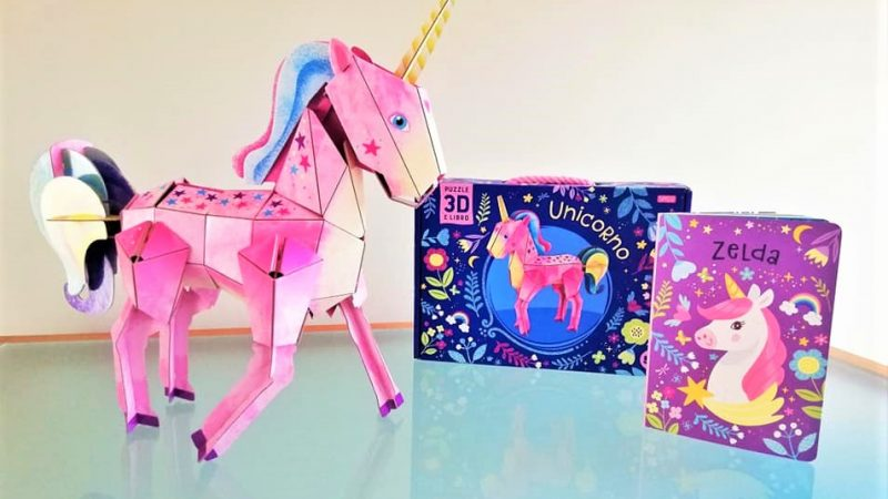 UNICORNO 3D, SASSI JUNIOR