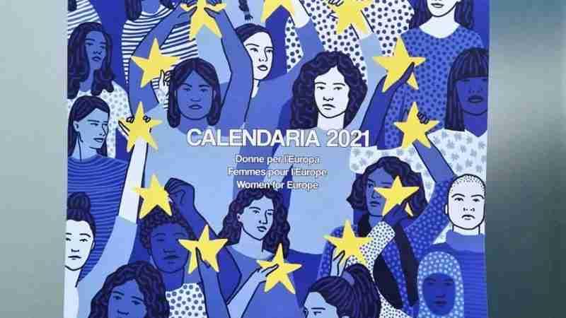 CALENDARIA 2021 Donne per l'Europa, MATILDA EDITRICE