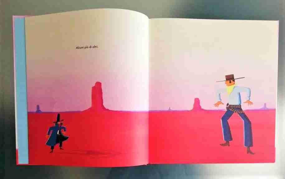 I guai di Mini Cowboy illustrazioni