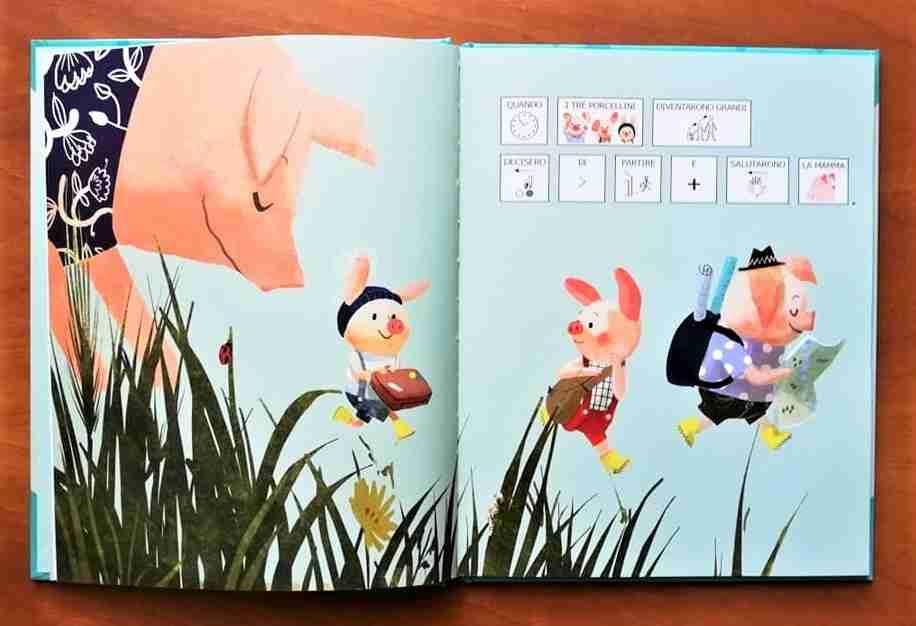 i tre porcellini io leggo da solo illustrazioni