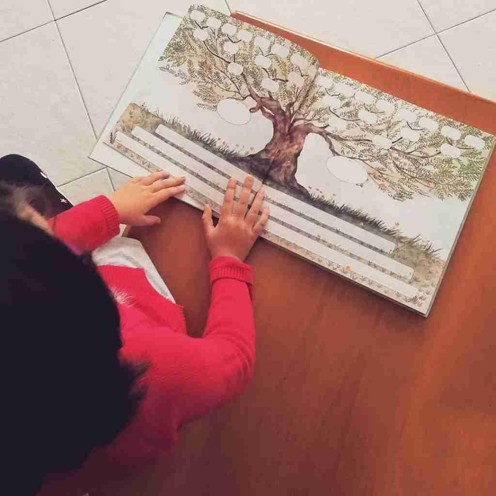 il nostro albero familiare foto