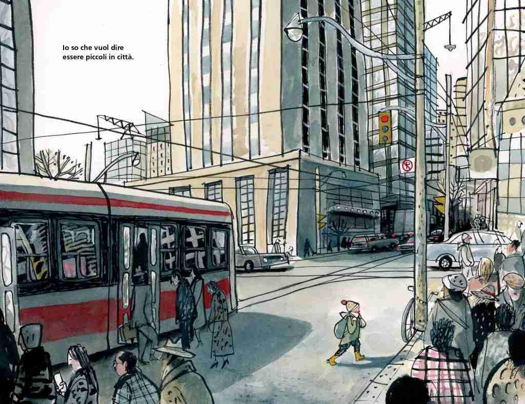 Piccolo in città_illustrazioni