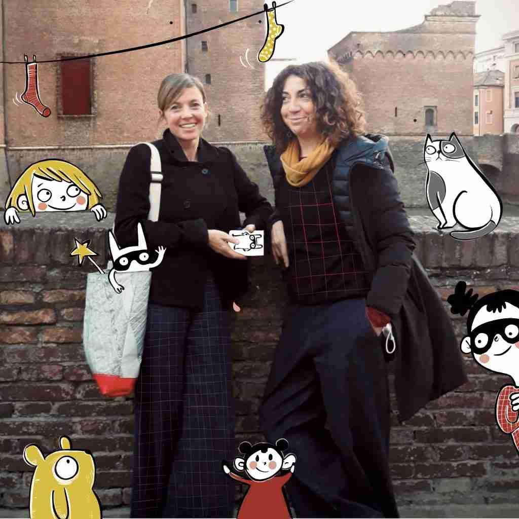 Giulia Binazzi e Chiara Leonardi foto