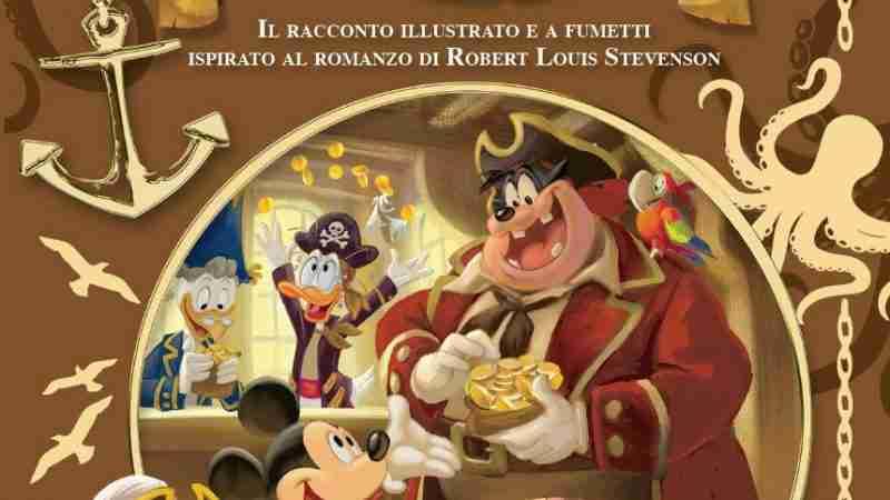 L'ISOLA DEL TESORO Letteratura a Fumetti Disney, GIUNTI EDITORE