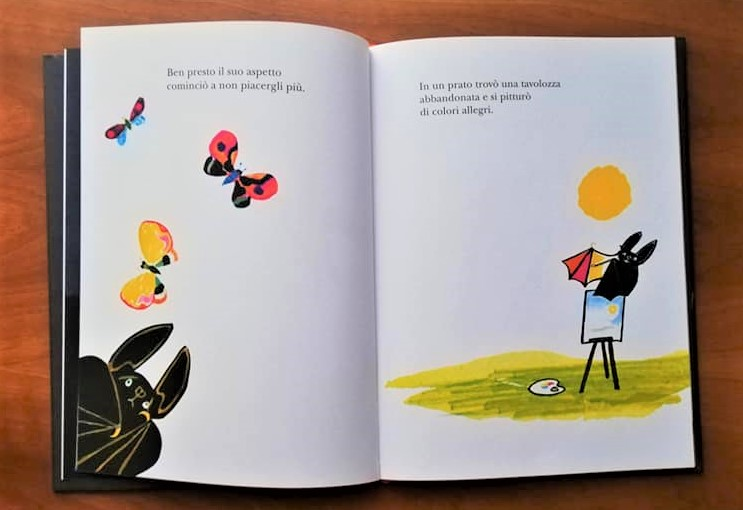 RUFUS il pipistrello a colori libro