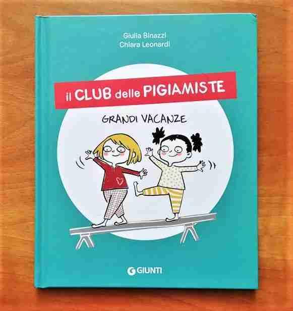 copertina il club delle pigiamiste grandi vacanze