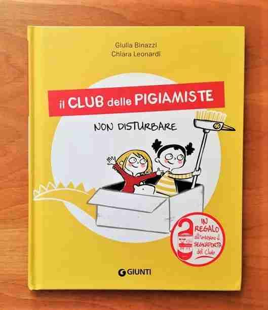 copertina il club delle pigiamiste non disturbare