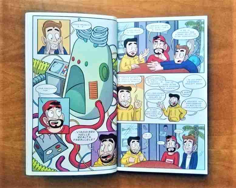 giornata marcia libro fumetti