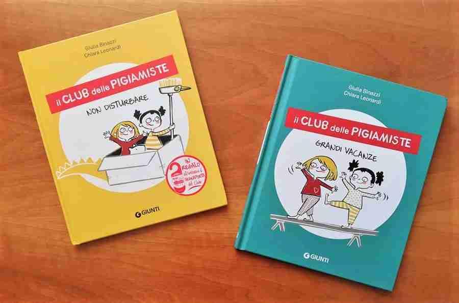 IL CLUB DELLE PIGIAMISTE di Giulia Binazzi e Chiara Leonardi, GIUNTI EDITORE