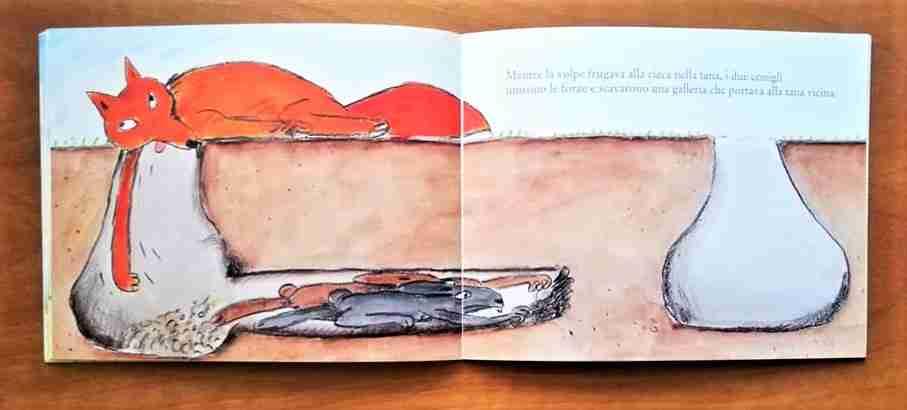 illustrazioni libro il litigio