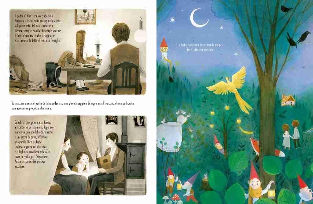 UN VIAGGIO NELLA VITA DI HANS CHRISTIAN ANDERSEN libro per bambini