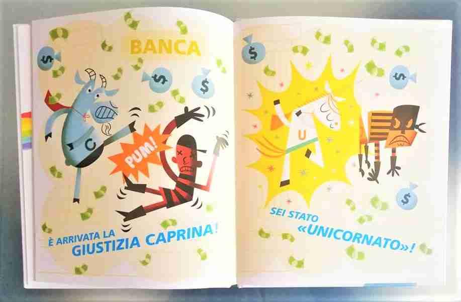 UNICORNO pensa di essere fantastico illustrazioni libro