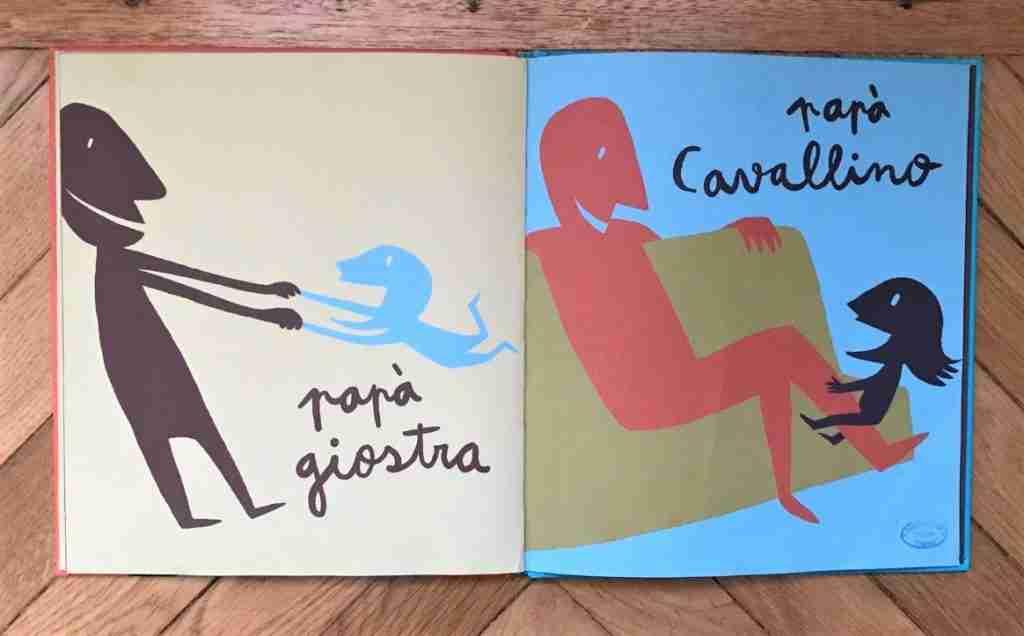 p di papà illustrazioni libro
