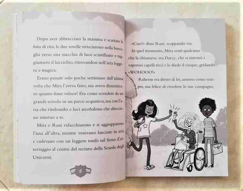 un unicorno per amico illustrazioni interne libro