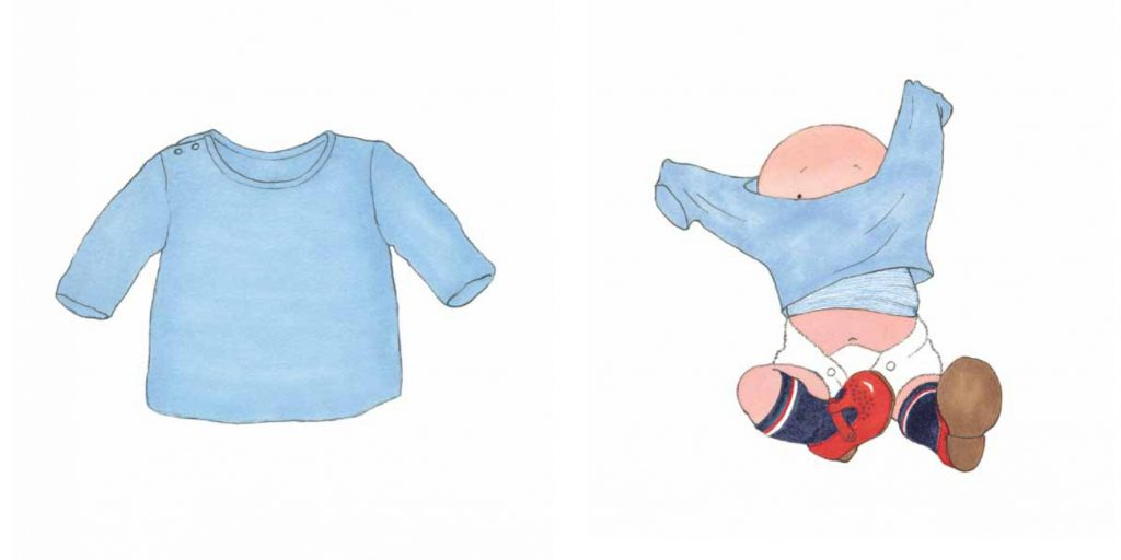 Mi vesto - Helen Oxenbury illustrazioni