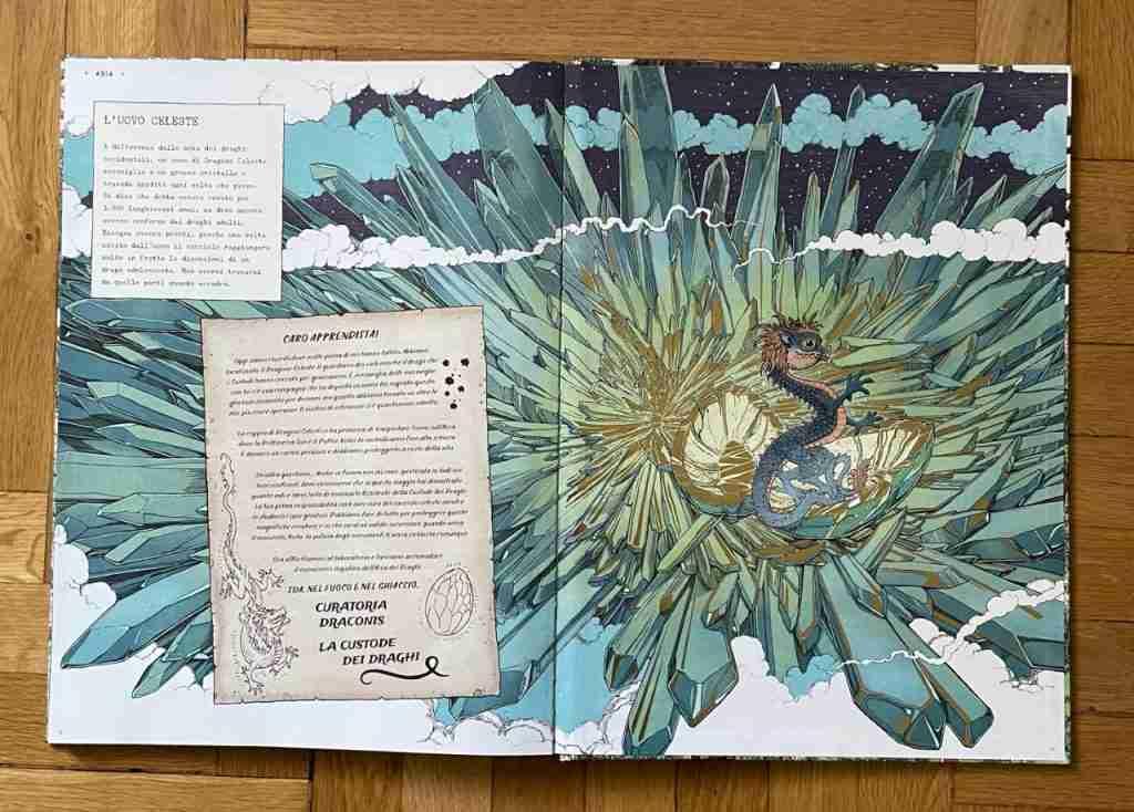 L'ARCA DEI DRAGHI immagini interne libro