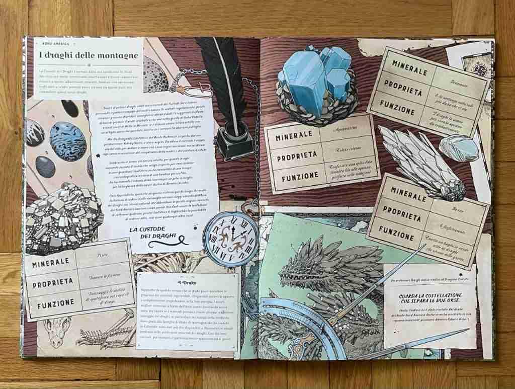 L'ARCA DEI DRAGHI recensione del libro