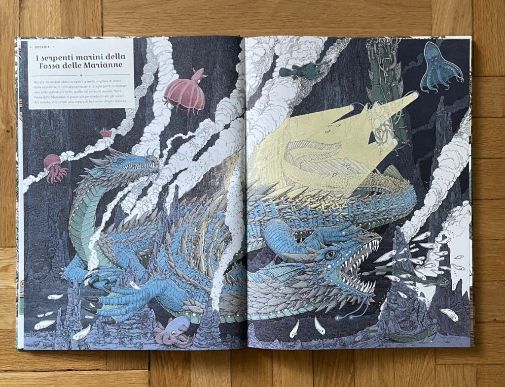 L'ARCA DEI DRAGHI recensione libro