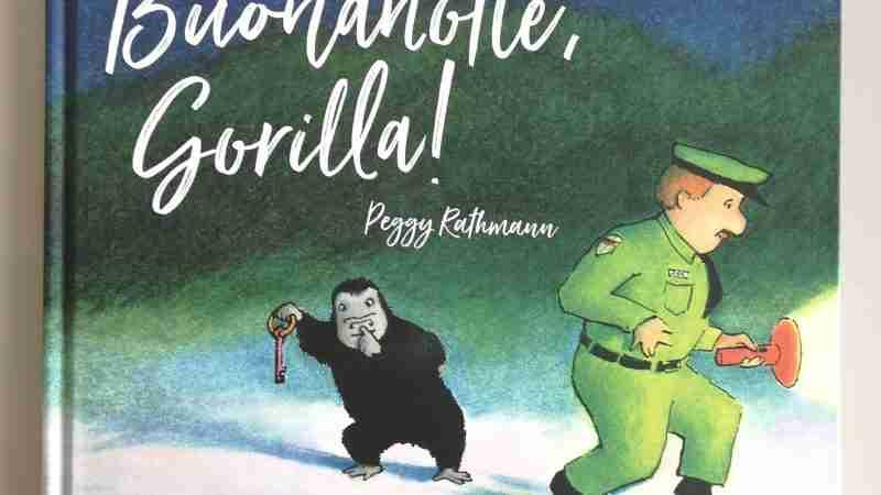 BUONANOTTE GORILLA di Peggy Rathmann, LUPOGUIDO