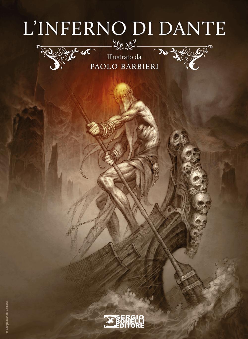 L'INFERNO DI DANTE illustrato da Paolo Barbieri, SERGIO BONELLI EDITORE