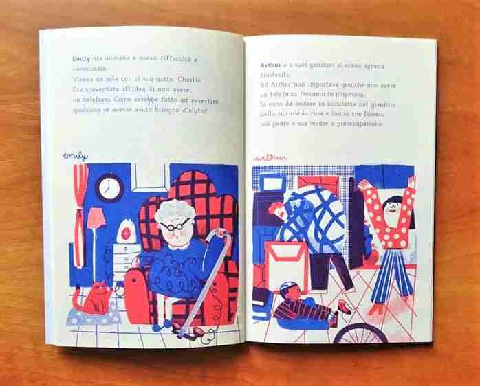 IL GRANDE CAOS DEI TELEFONI di Sally Nicholls recensione illustrazioni
