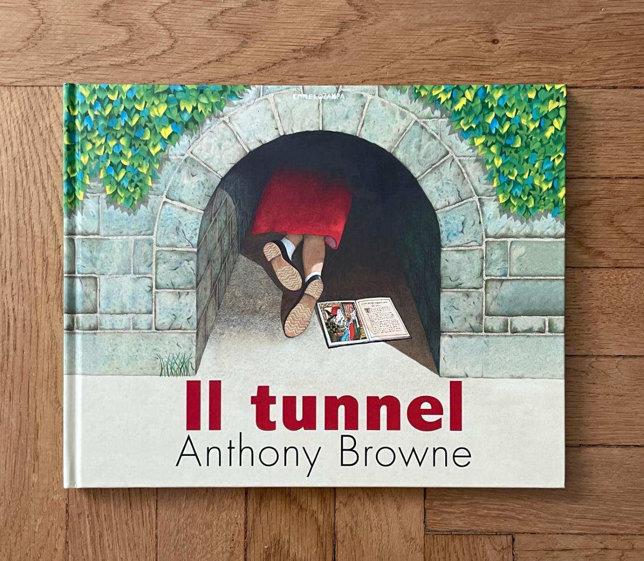 IL TUNNEL di Anthony Browne, CAMELOZAMPA