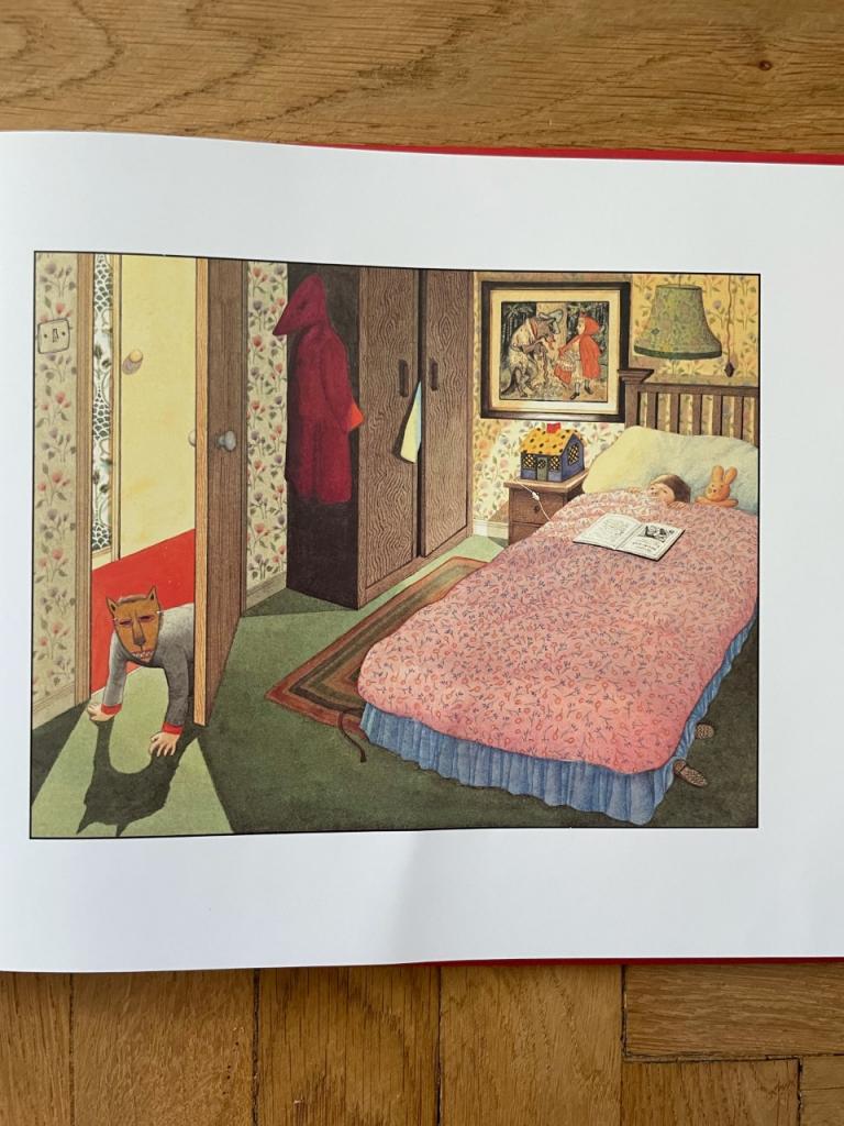 IL TUNNEL di Anthony Browne illustrazioni interne