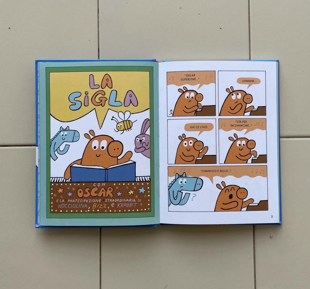 OSCAR SUPERSTAR, SEMPRE PIÙ IN ALTO! recensione fumetto