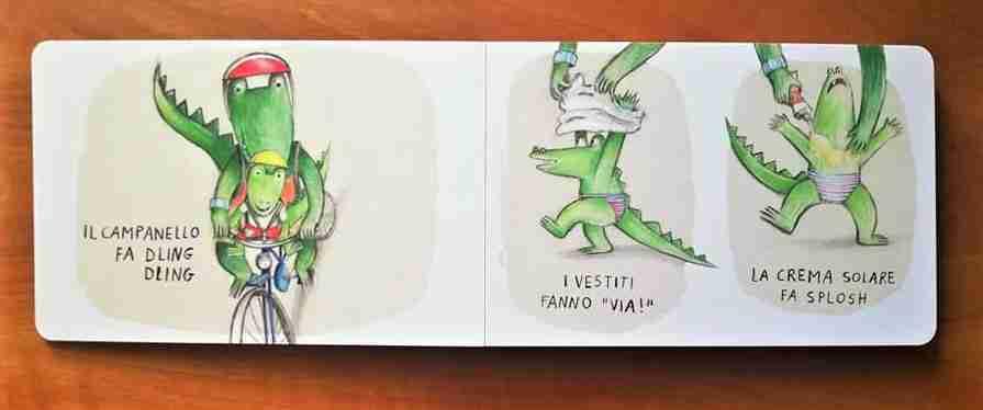 PICCOLO COCCODRILLO VA AL MARE recensione libro
