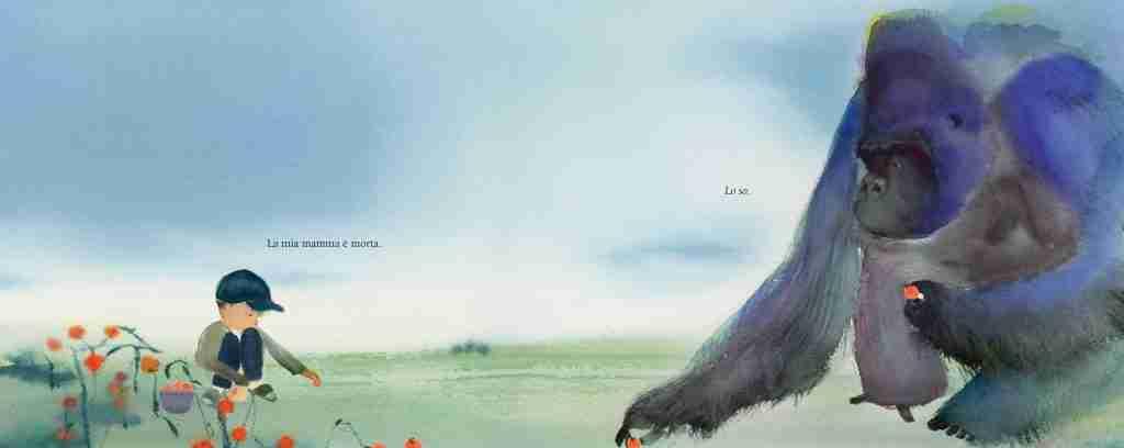 il bambino e il gorilla recensione e illustrazioni