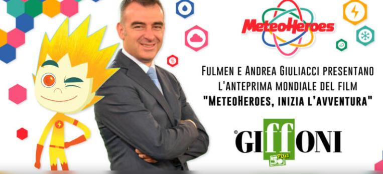 I METEOHEROES PROTAGONISTI DEL GIFFONI50PLUS