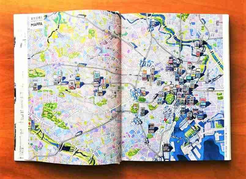 BOTTEGHE DI TOKYO di Mateusz Urbanowicz recensione e mappa