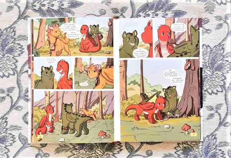 DRAGON KINGDOM OF WRENLY La maledizione del fuoco freddo fumetto recensione