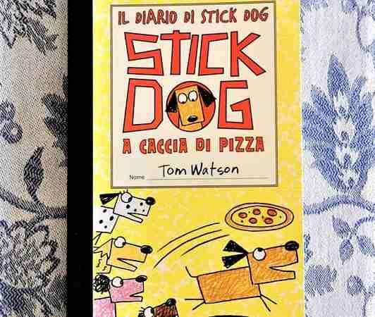 IL DIARIO DI STICK DOG 3 A caccia di pizza di Tom Watson, LE RANE DI INTERLINEA