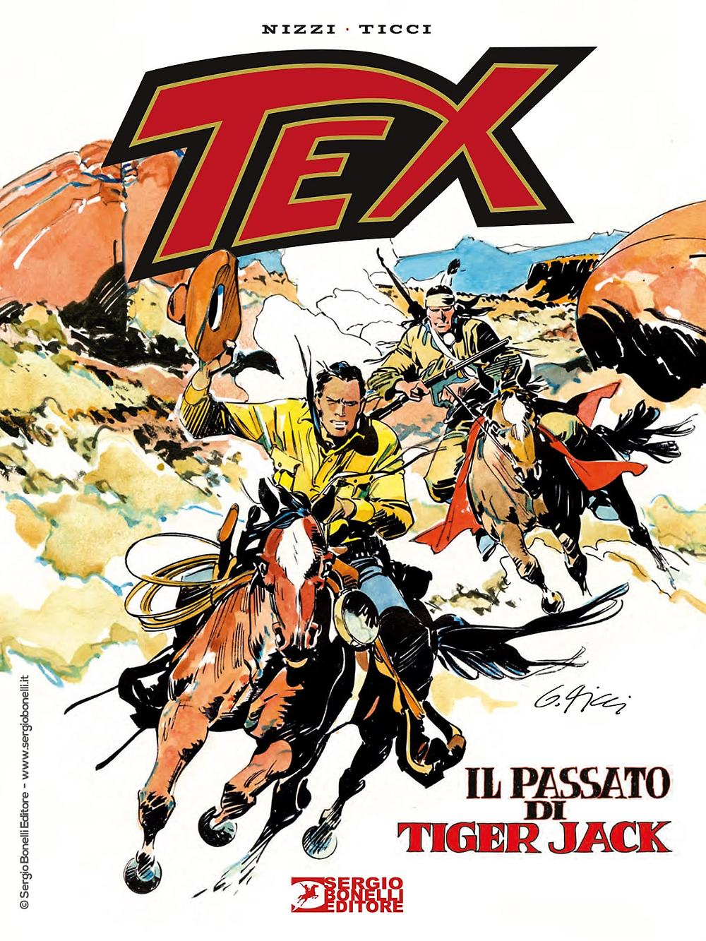 TEX Il passato di Tiger Jack, SERGIO BONELLI EDITORE