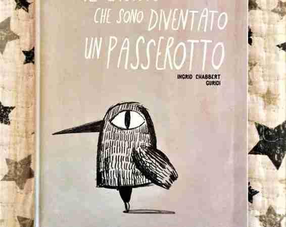 IL GIORNO CHE SONO DIVENTATO UN PASSEROTTO di Ingrid Chabbert e Raul Nieto Guridi, COCCOLE BOOKS