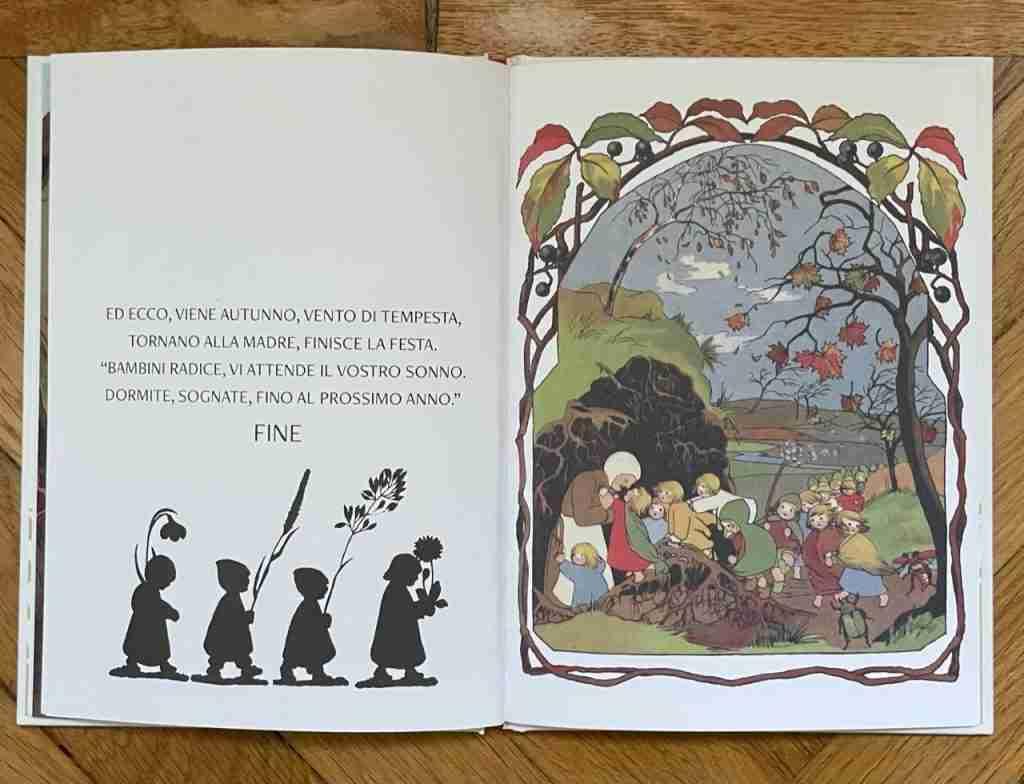 LA PICCOLA STORIA DEI BAMBINI RADICE di Sibylle von Olfers recensione libro