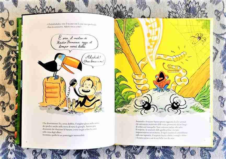RADIO BANANA di Clémentine Mélois e Rudy Spiessert libro