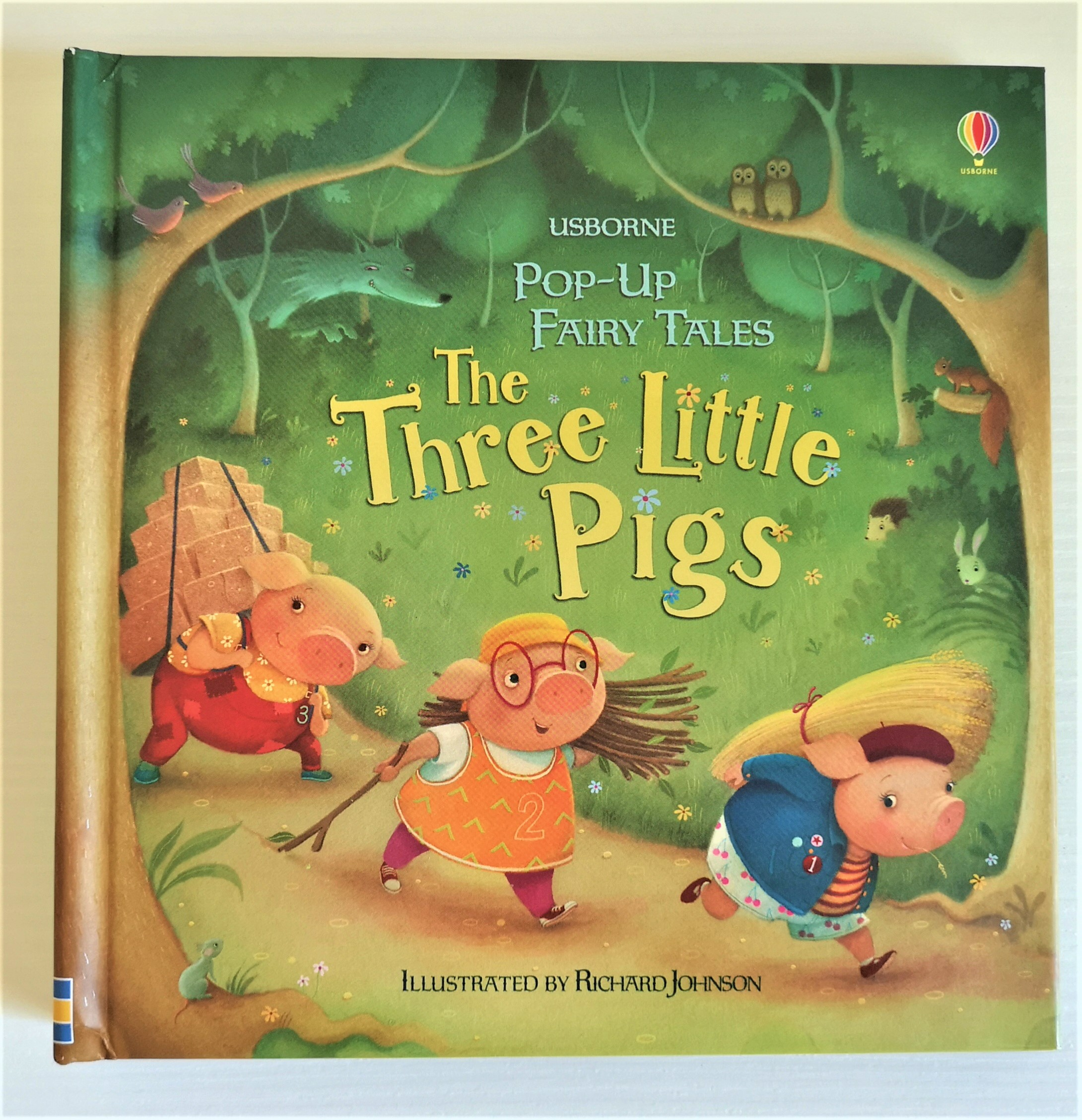 THE THREE LITTLE PIGS raccontato da Susanna Davidson, USBORNE