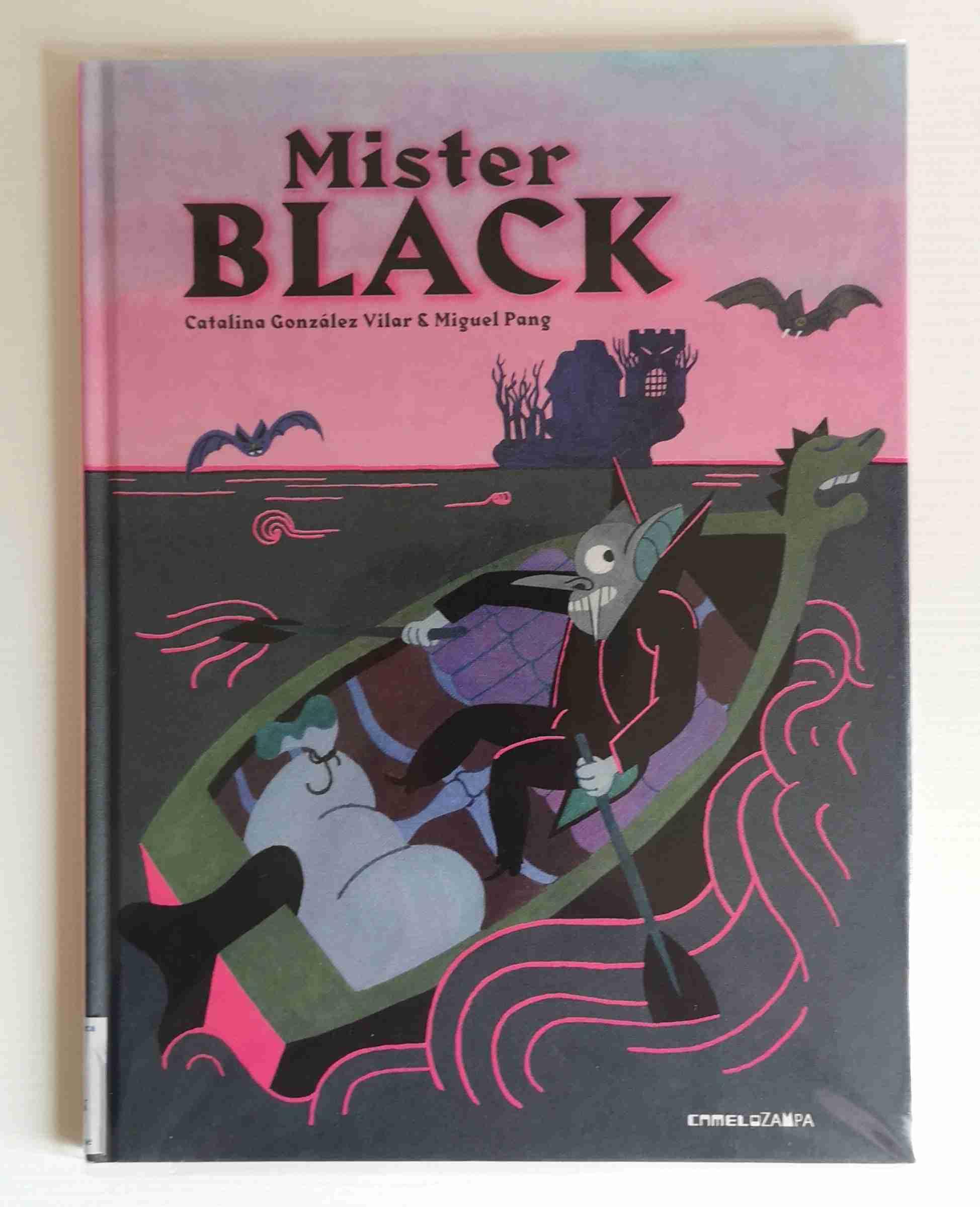 MISTER BLACK di Catalina González Vilar e  Sara Saorin, CAMELOZAMPA