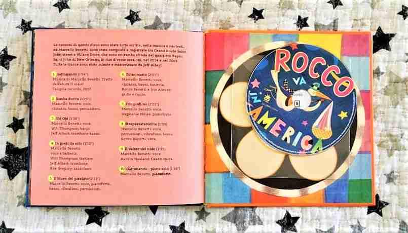 ROCCO VA IN AMERICA di Marcello Benetti e Roberto David recensione e audio